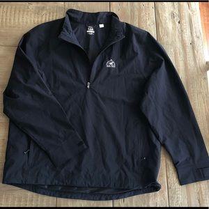 Fairway half zip jacket